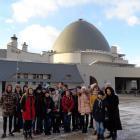 Восьмиклассники в Московском планетарии